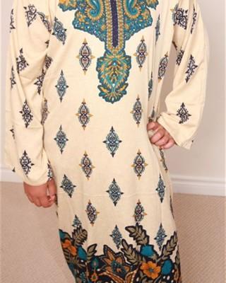 Modest Stylish Floral Kaftan Dresses