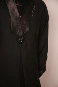 Stylish Applique Abaya Dresses