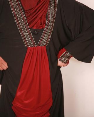Contrasy Jersy Abaya