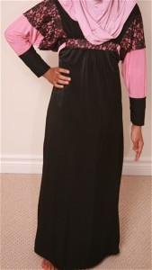 Modest Abaya Dress with front Designs