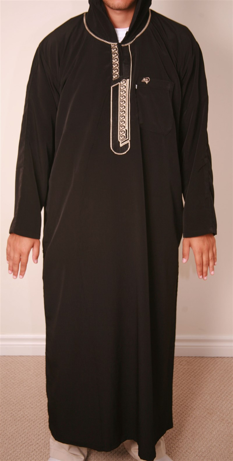 Moroccon Embroidered Jubba Thobe The Sunnah Solutions