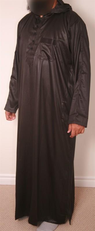Morrocon Aswad Jubba -Thobe
