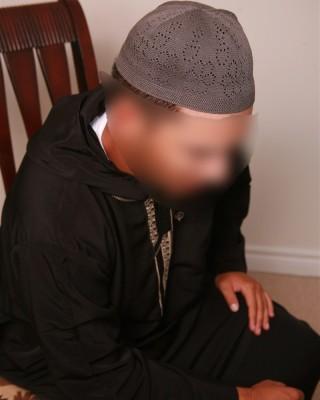 Net Style Islamic Topi Hat Caps